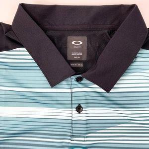 Oakley Shirts - Oakley Ace Golf Polo Mens Shirt Blackout XXL